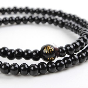 Sandalwood Bead Bracelet Necklace