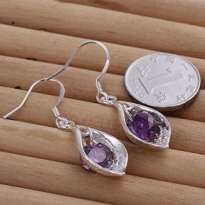 925 Shell Drop Earrings