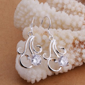 925 Crystal Chandelier Earrings