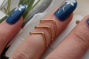 V Shape Knuckle Ring