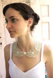 Lace Bib Collar Necklace