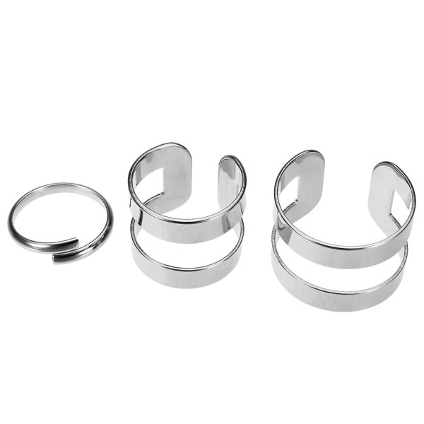 hollow knuckle finger ring