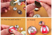 DIY Time Gemstone Brooch