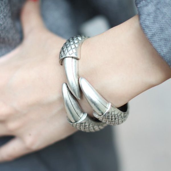 Eagle Claw Cuff Bangle
