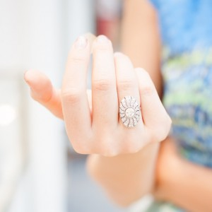 Knuckle Double Finger Ring
