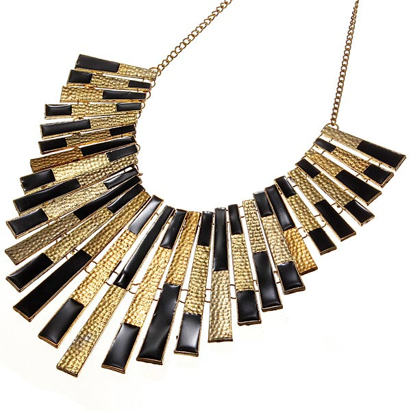 Chunky Gold Statement Necklace