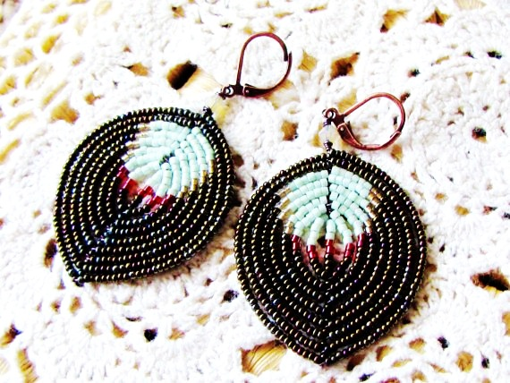 Bohemia Beads Dangle Earrings