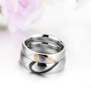 925 Silver Twisted Couple Ring