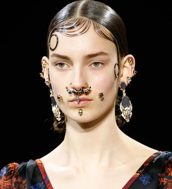 Rhinestone Nose Rings