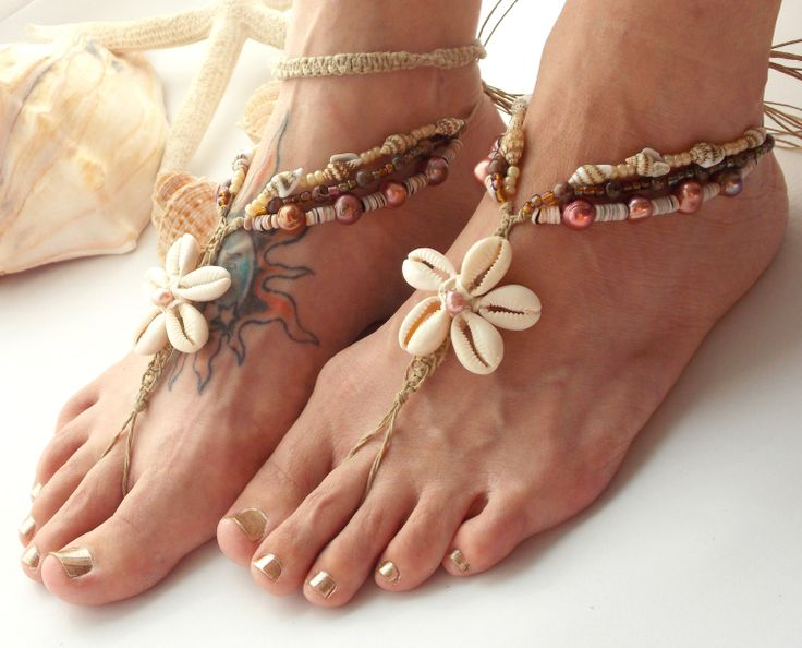 Antique Silver Coin Anklet