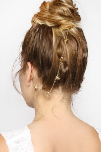 Ear Cuff Hair Chain