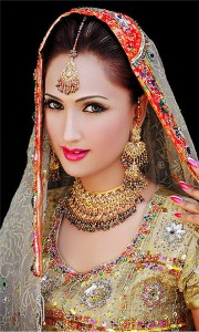 Indian women with jewelry