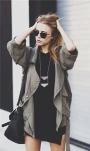 cool girl with jewelry