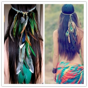 feather and fur jewelry