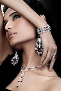 women with silver jewelry