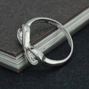 925 sterling endless love ring