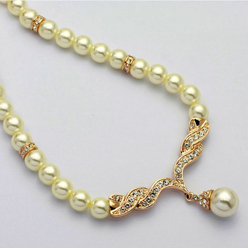Gold Plated Pearl jewelry