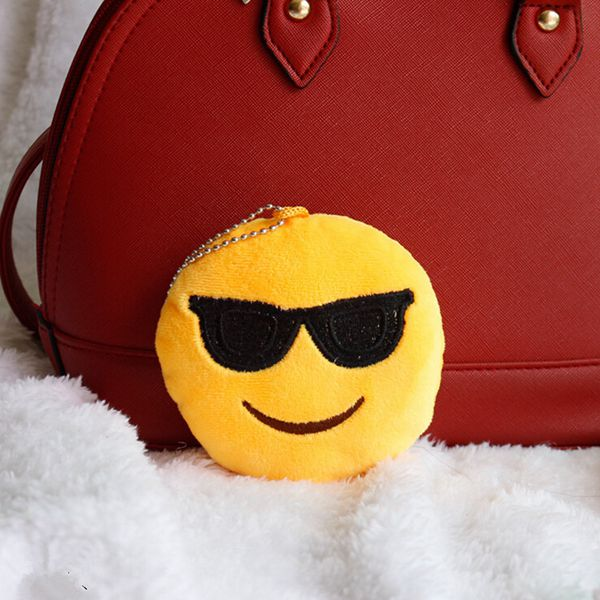 emoji emoticon key chain