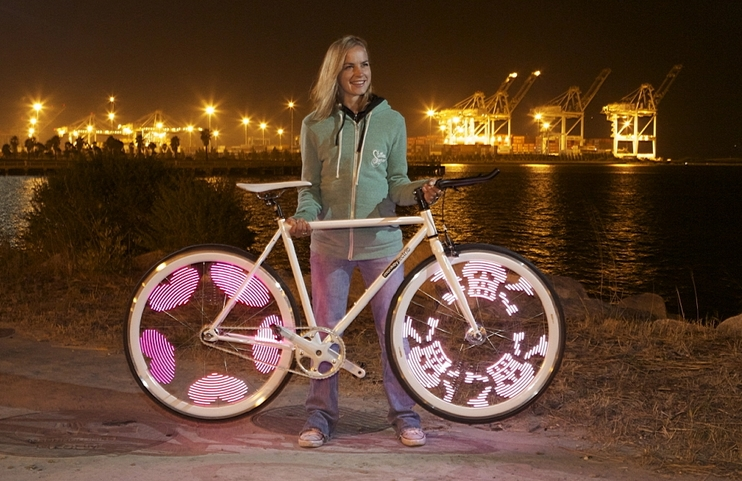 lumious bicycle
