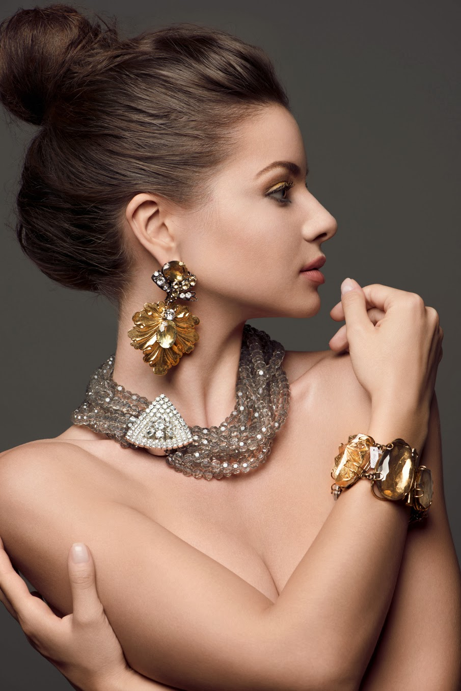 women with unique jewelry