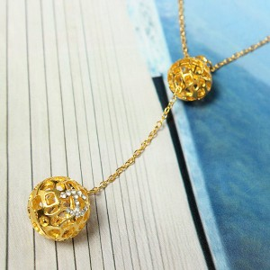 Alloy Sweater Chain Necklace