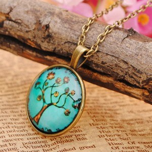 Vintage Tree Life Necklace