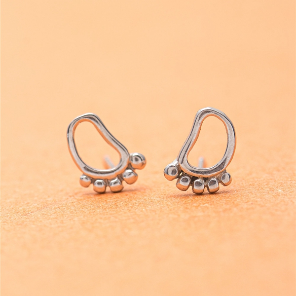 little feet ear studs