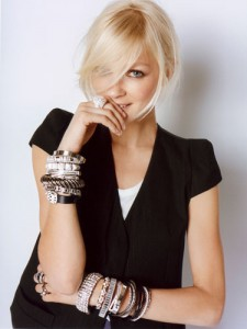 women with fashion jewelry