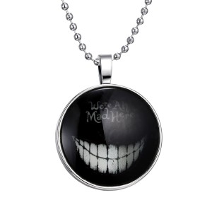 Halloween luminous pendant necklace