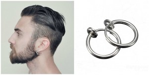 Magnetic Rounded Ear Clip