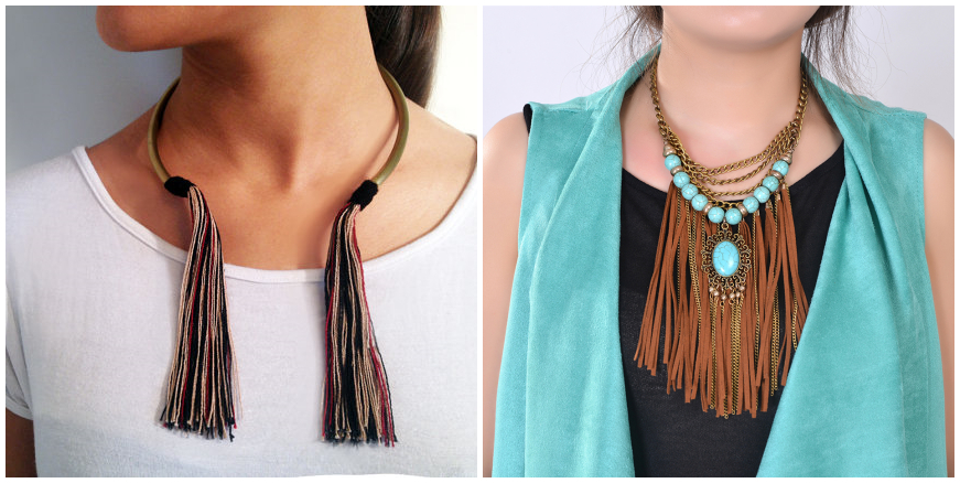 Bohemian Tassels Statement Jewelry