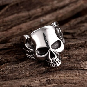 Skull Head Men Ring