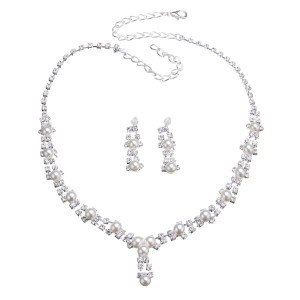 Silver Necklace Jewelry Sets