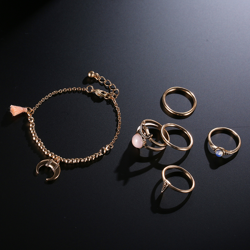 Bohemia Gold Plated Rings