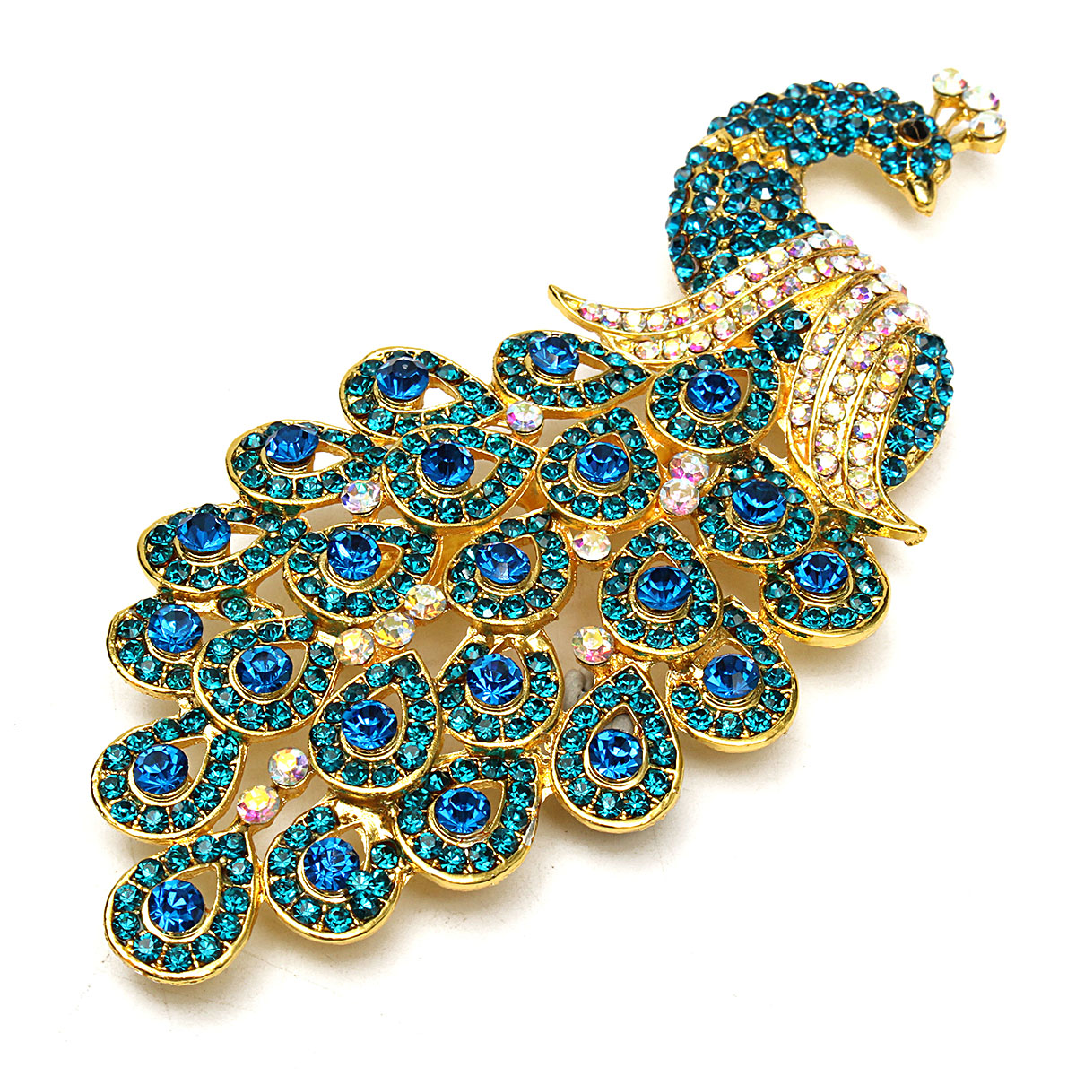 Peacock Brooch Pin