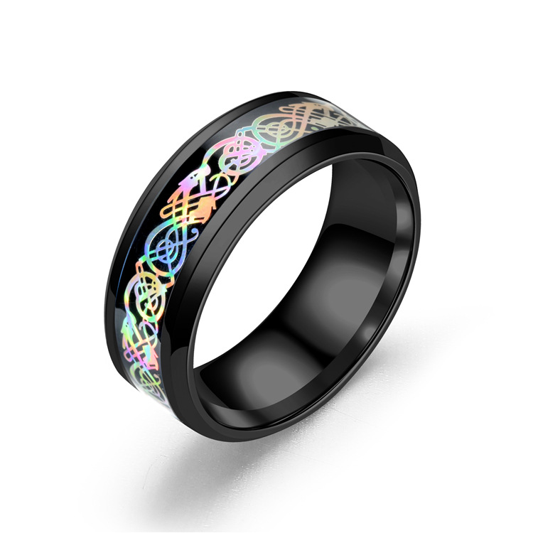 Dragon Pattern Ring