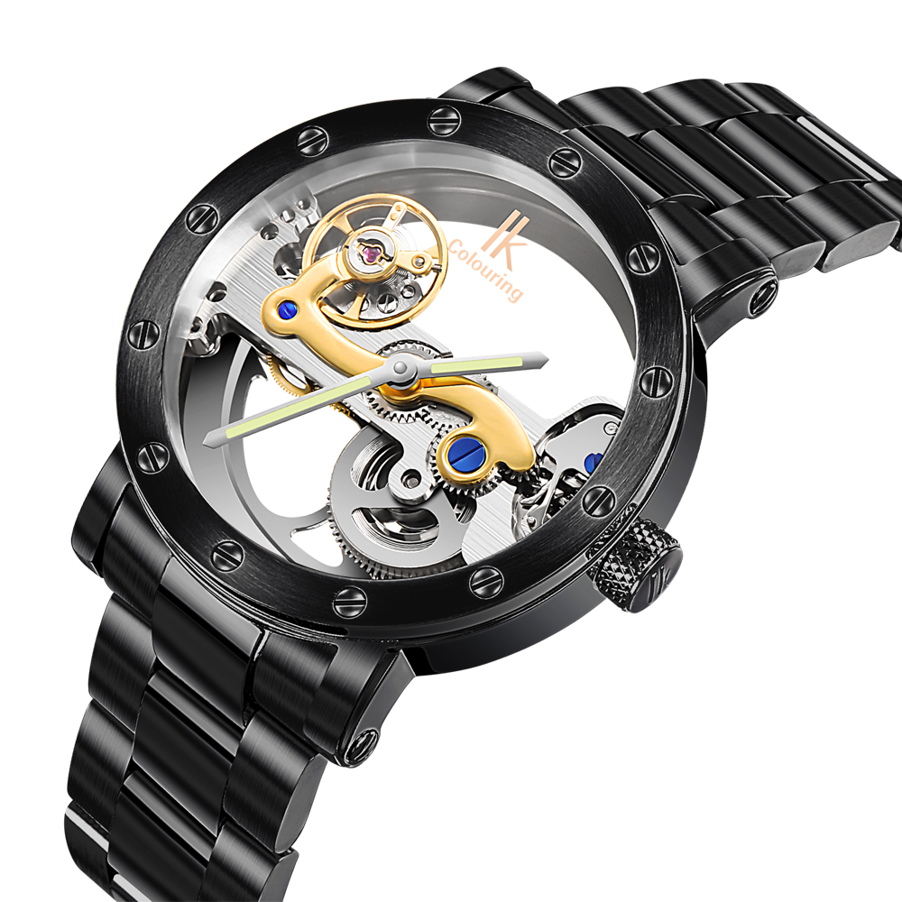 Transparent Mechanical Watch